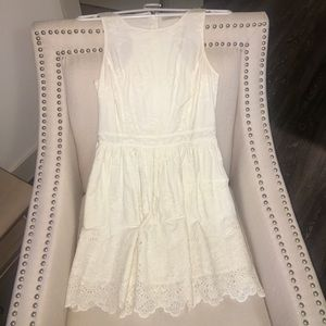 Jack Wills Eyelet White Dress